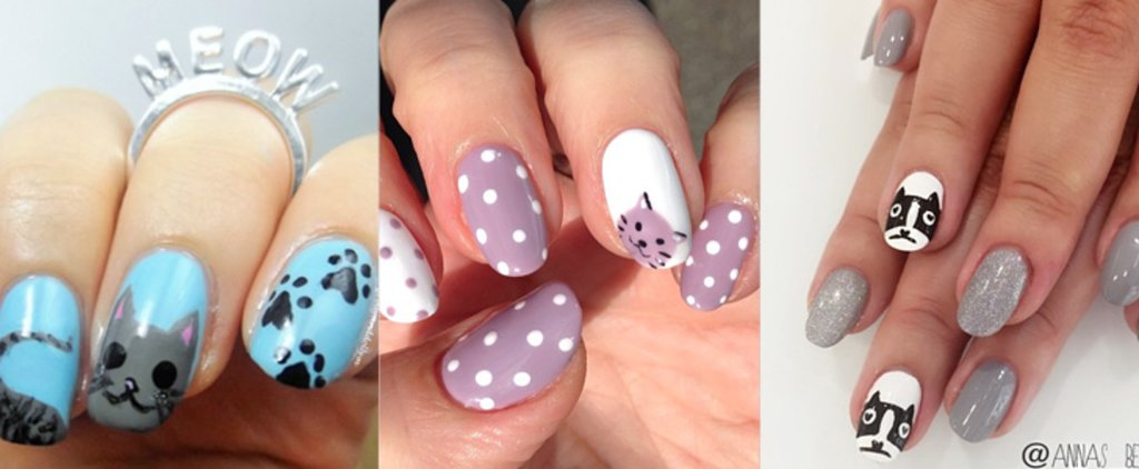 You'll Want to Get Your Claws on This Cute Cat-Inspired Nail Art