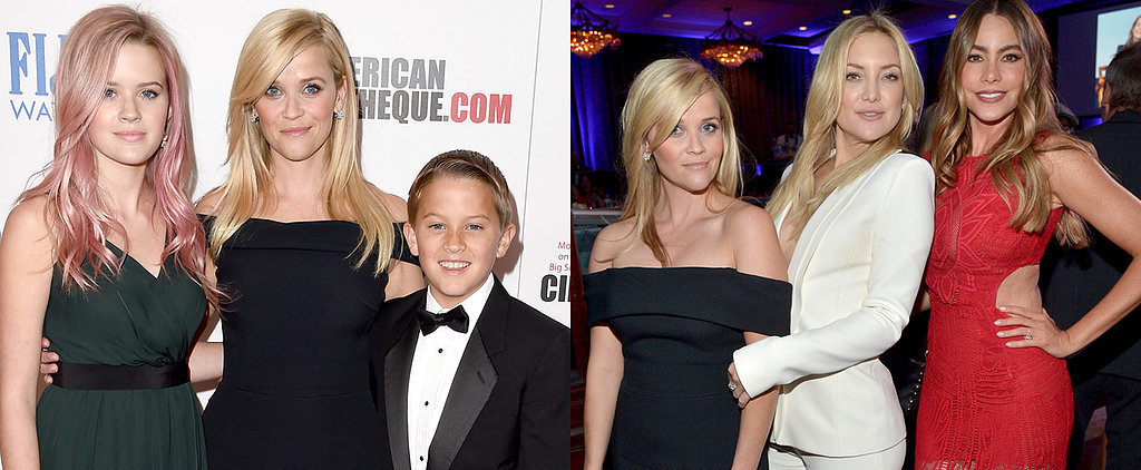 Reese Steps Out With the Best Dates in the House — Her Gorgeous Kids Ava and Deacon
