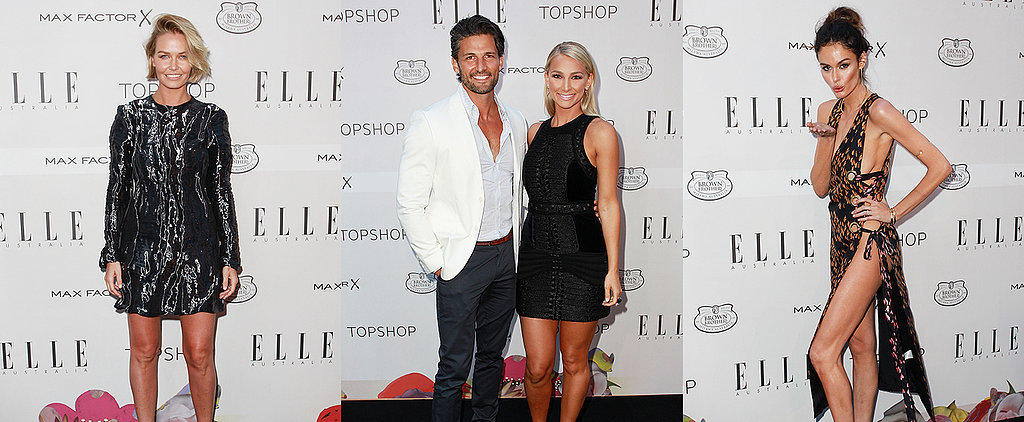 Australia's Most Stylish Celebrities Hit the Elle Red Carpet
