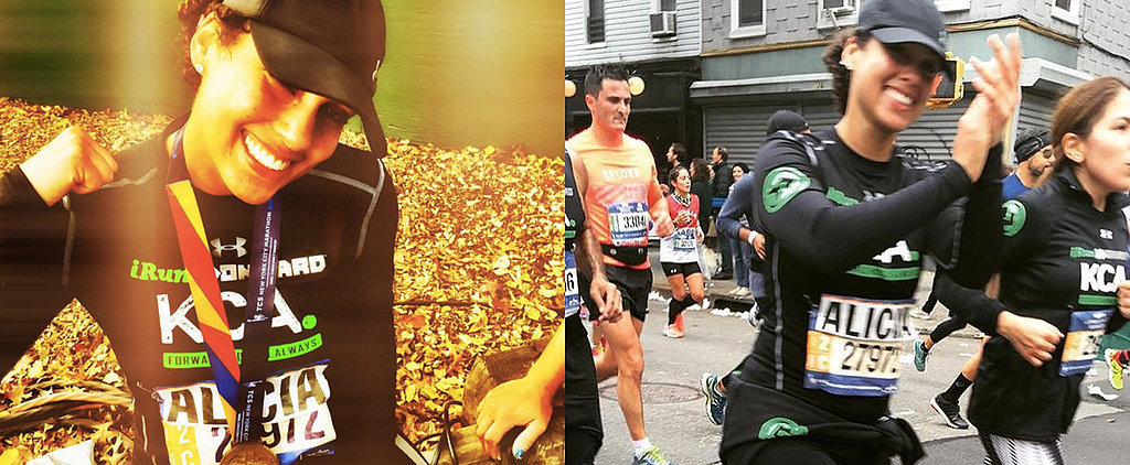 While Most of Us Were Brunching, Alicia Keys Ran the NYC Marathon