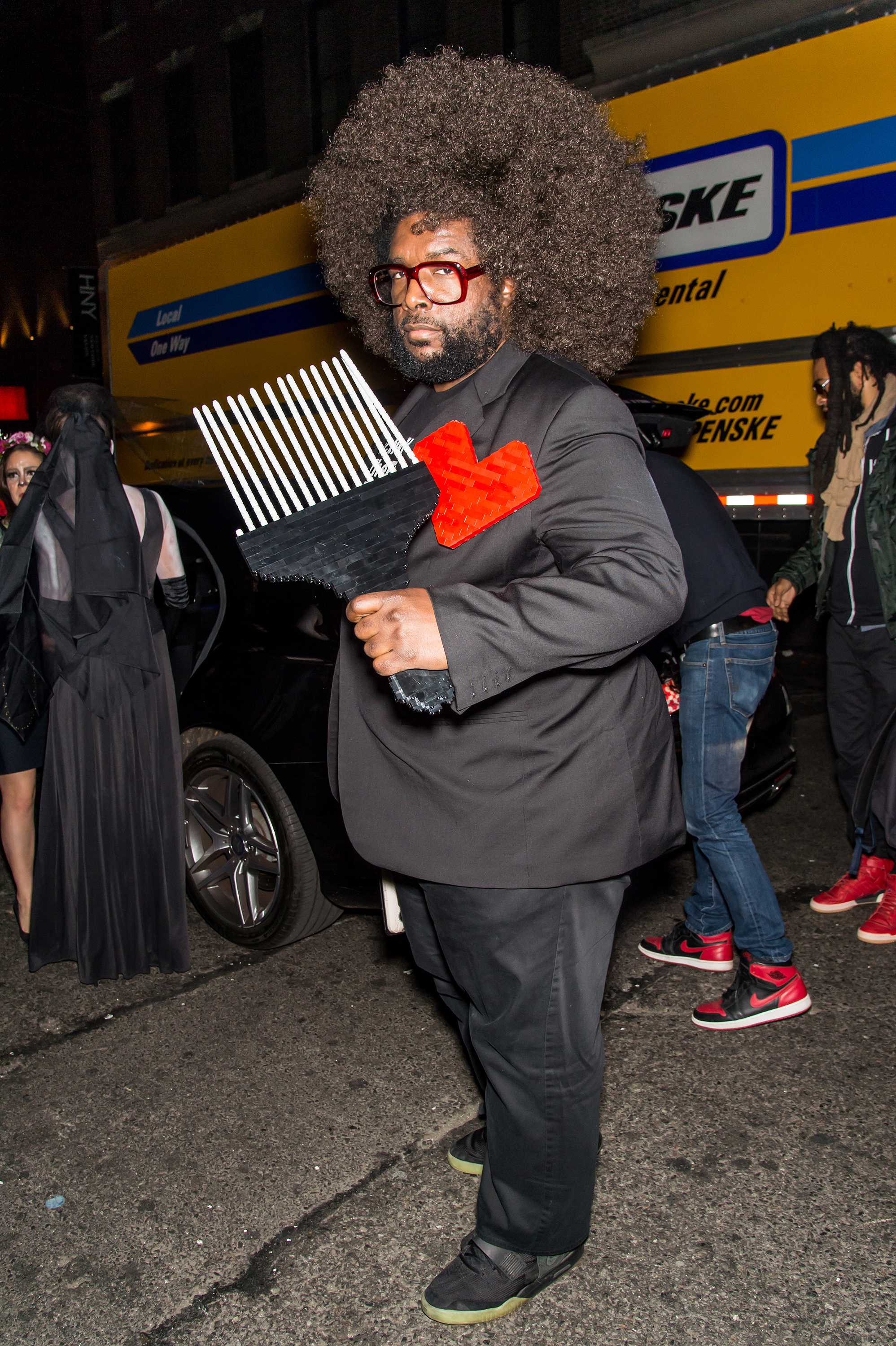 questlove all the best looks from heidi klums annual