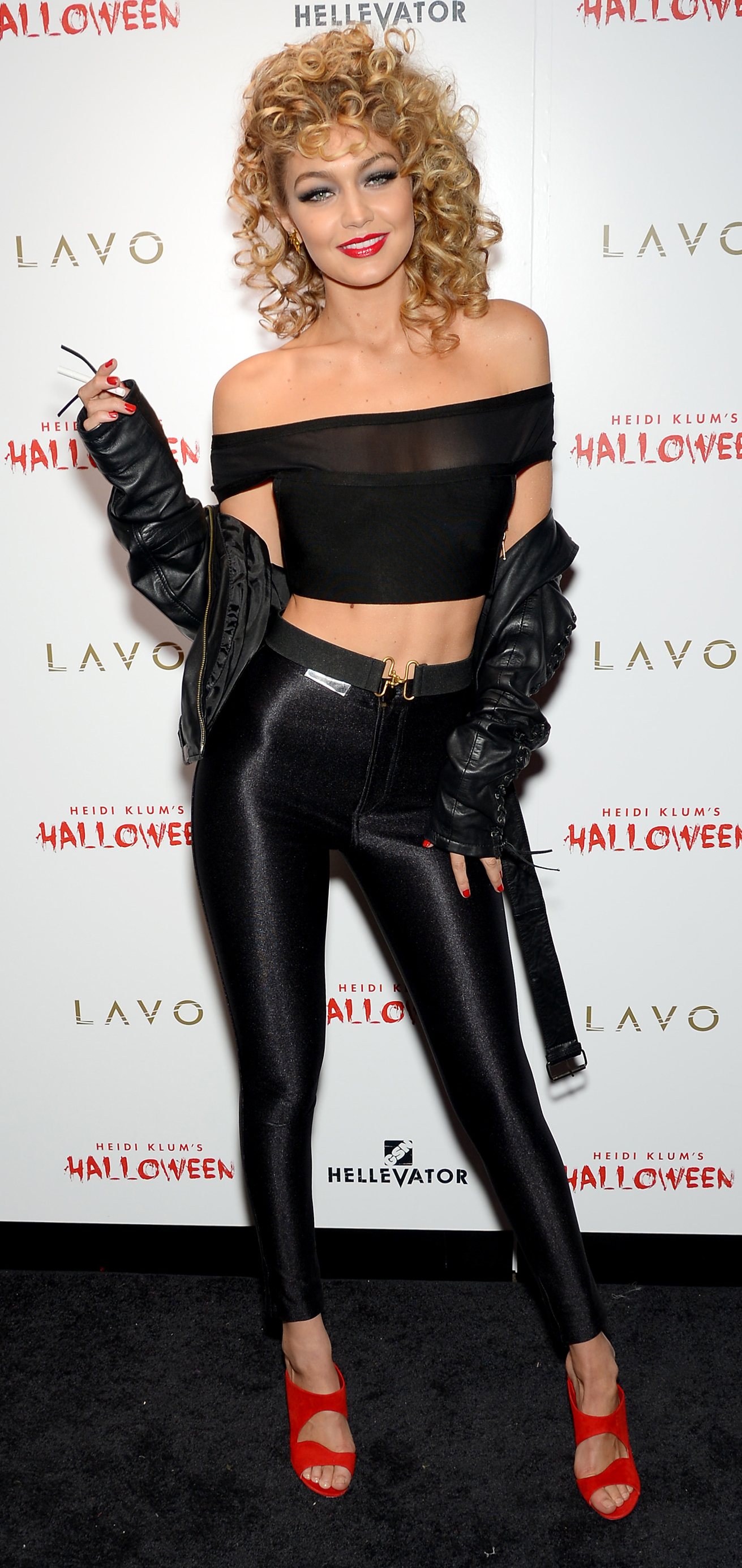 Gigi Hadid Was Sandra Dee For Halloween - and Her Costume Was Absolutely Flawless