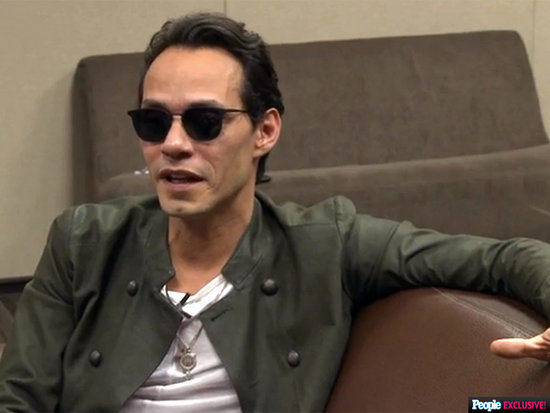 VIDEO: Marc Anthony Gives Carlos PenaVega Salsa Advice - 'It's in Your Blood, Bro!'