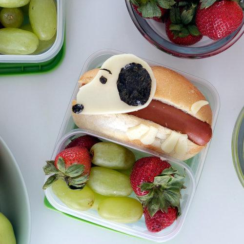 snoopy lunch box popsugar food. Black Bedroom Furniture Sets. Home Design Ideas