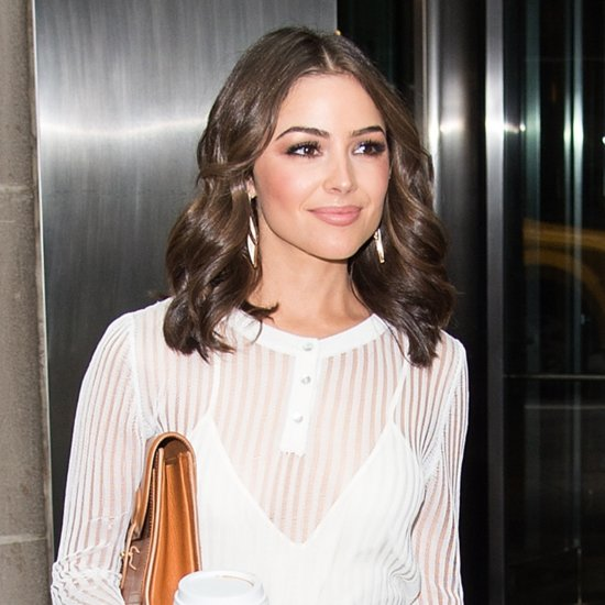 Olivia Culpo's Monochrome Outfit Is Right in Every Way