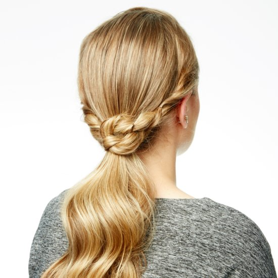 Knotted Ponytail How To