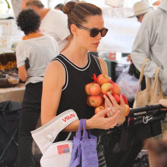 Jennifer Garner Farmers Market Pictures November 2015
