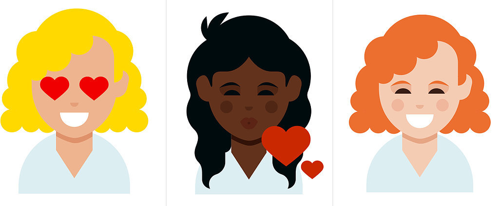 Dove Creates Curly Hair Emoji For Every Skin Tone