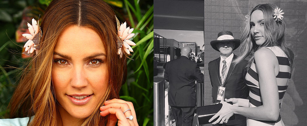 Steal Rachael Finch's Cute Melbourne Cup Hairstyle