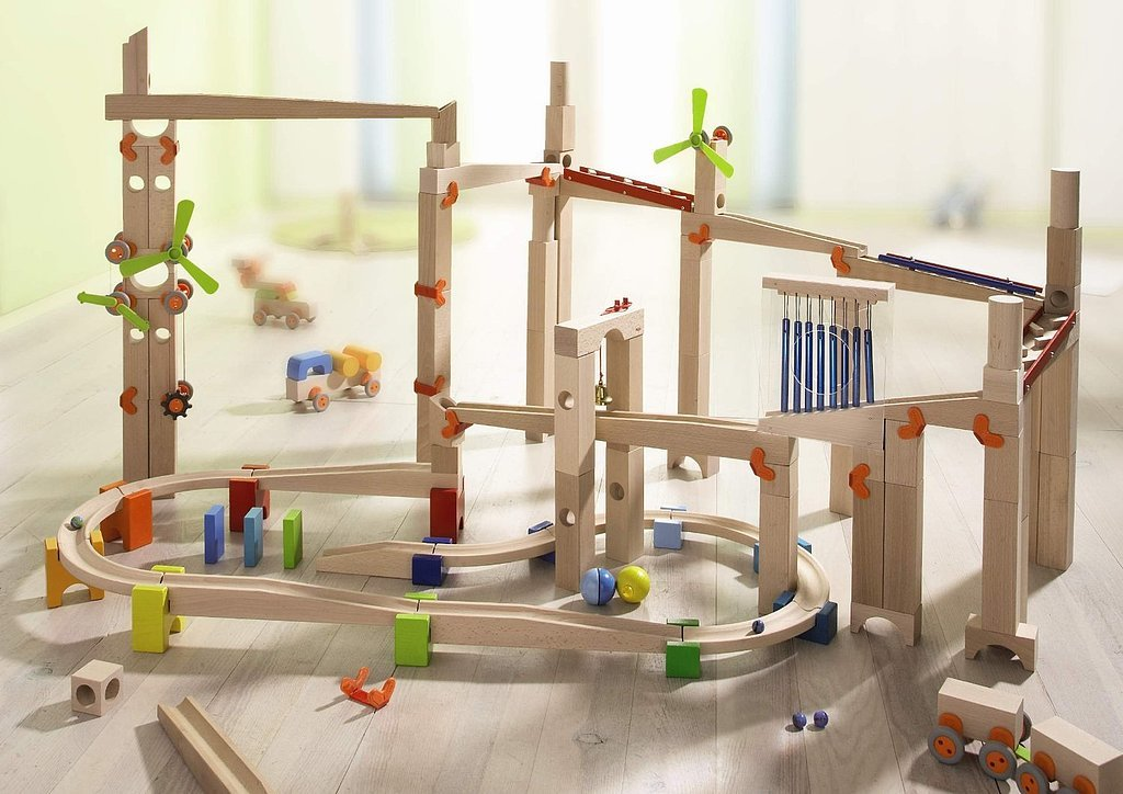 HABA My First Toddler Ball Track