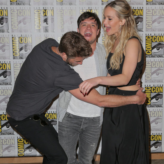 Cutest Moments From The Hunger Games Mockingjay Press Tour