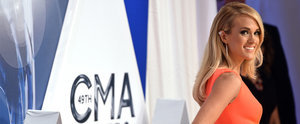 Carrie Underwood Just Lit Up the CMAs Red Carpet