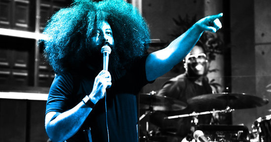 All of Reggie Watts's Late Late Show Questions