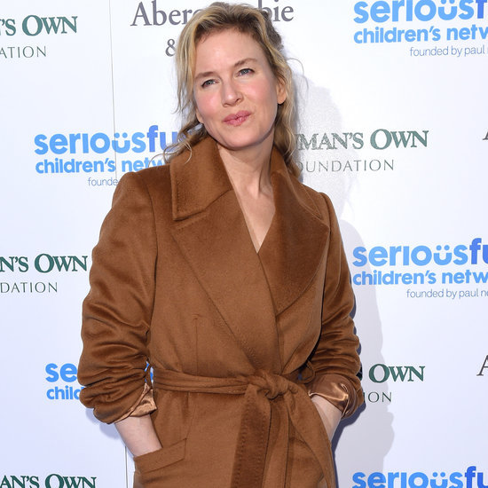 Renee Zellweger in Camel Coat