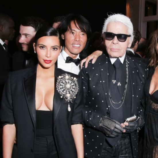Karl Lagerfeld Talking About Kim Kardashian
