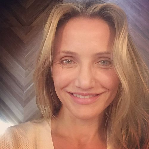 Cameron Diaz Without Makeup | Fall 2015