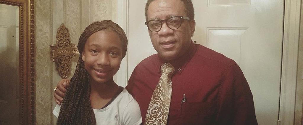 "Seventh Grader Writes Inspiring Poem After Teacher Suggests She Writes About Her ""Weave"""