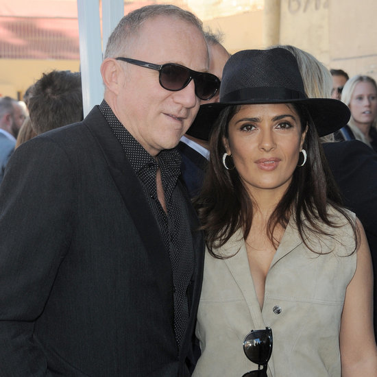 Salma Hayek Wears Safari-Inspired Outfit