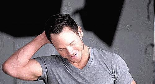 Chris Pratt Smirks | Pictures