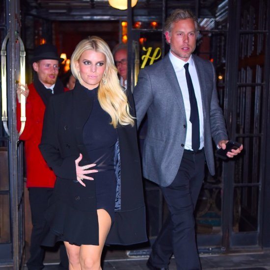 Jessica Simpson and Eric Johnson Out in NYC November 2015