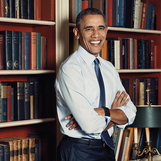 Barack Obama Poses on the Cover of LGBT Magazine