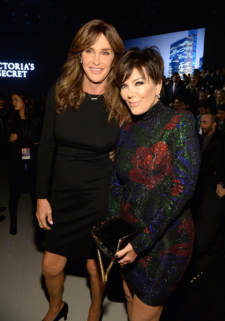 Kris and Caitlyn Are Doting Parents For Kendall's Big Night as a Victoria's Secret Angel