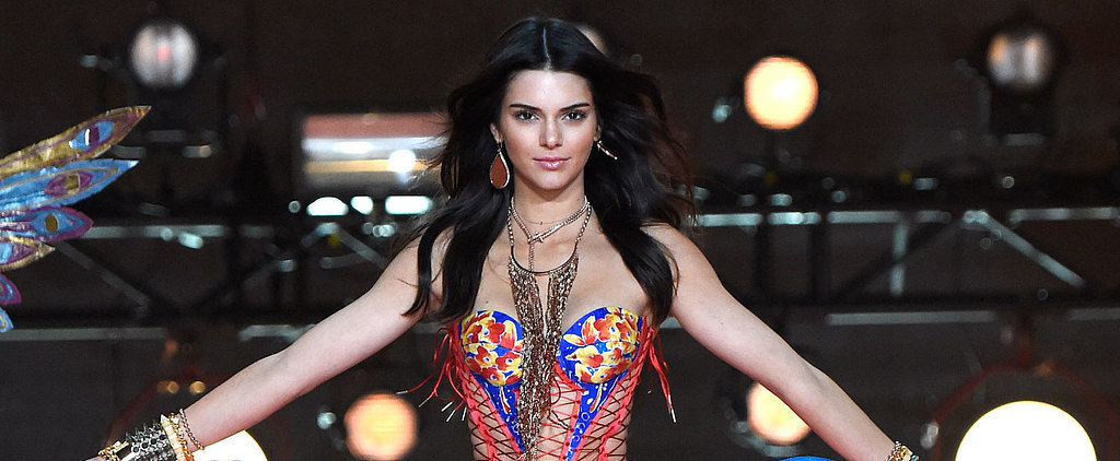 Kendall Jenner Certainly Doesn't Look Like a VS Runway Rookie