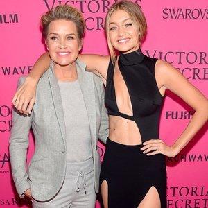 Gigi Hadid and Yolanda Foster Victoria's Secret Afterparty