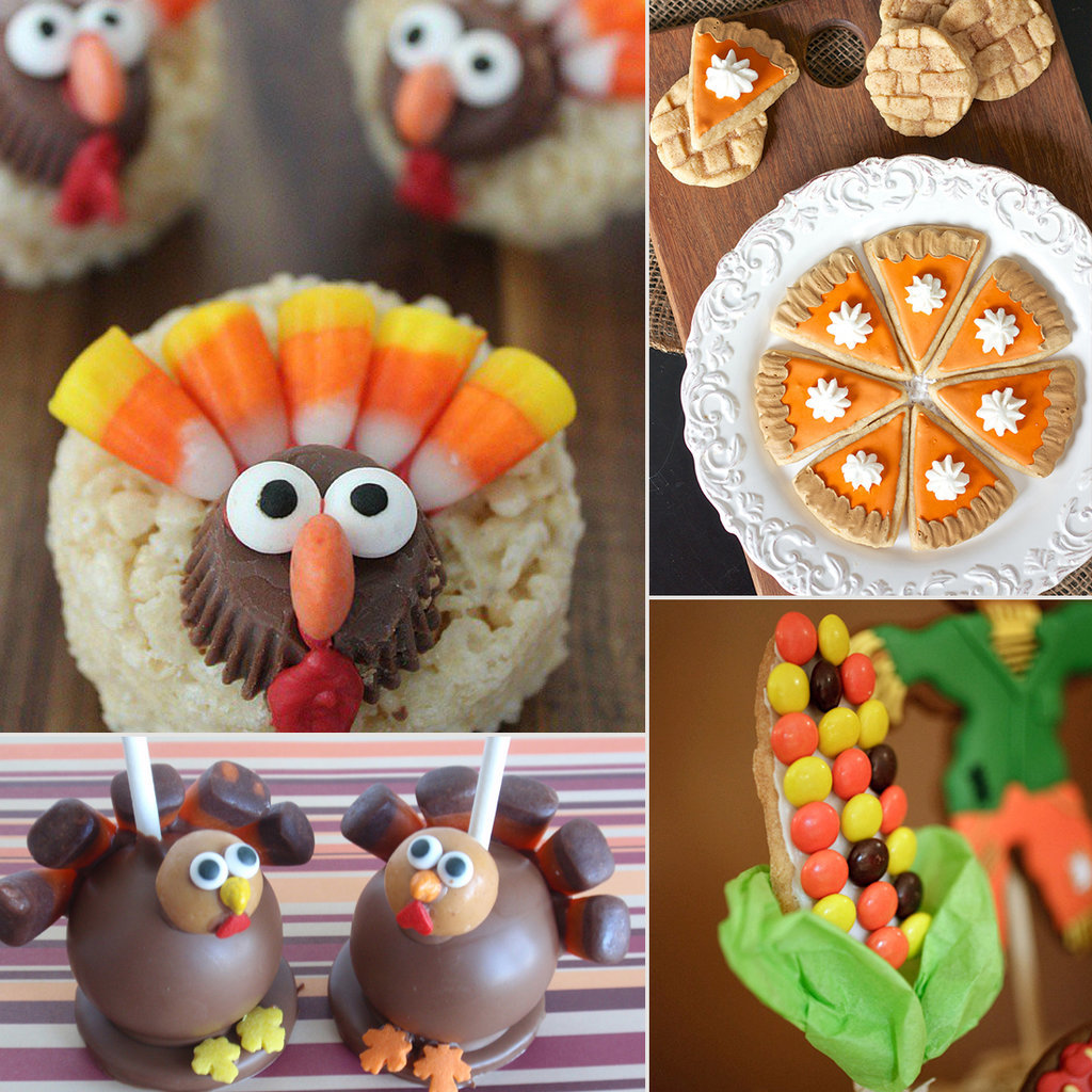 Pictures of thanksgiving desserts for kids popsugar moms for Fun and easy thanksgiving dessert recipes