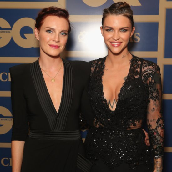 Ruby Rose and Fiancee at GQ Men of the Year Awards 2015