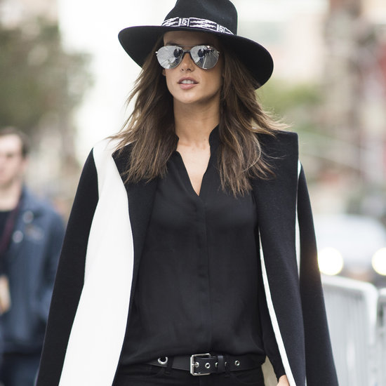 Alessandra Ambrosio Street Style Before VS Fashion Show