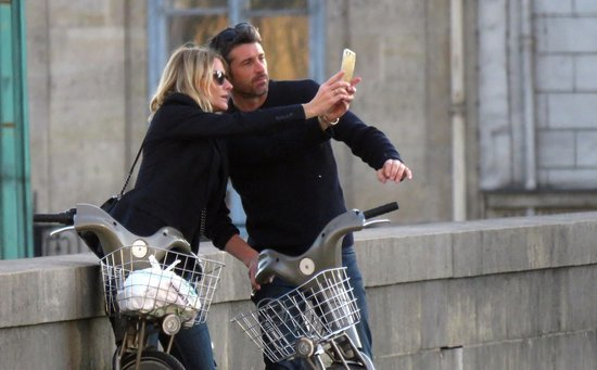 Patrick Dempsey and Estranged Wife Reunite in Paris, Give Us Major #RelationshipGoals
