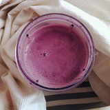 Blueberry Green Monster Smoothie