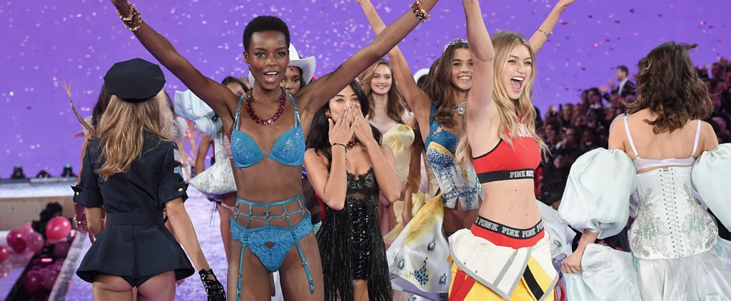 Gigi Hadid Credits This Elite Group of Women For Inspiring Her Angel Strut
