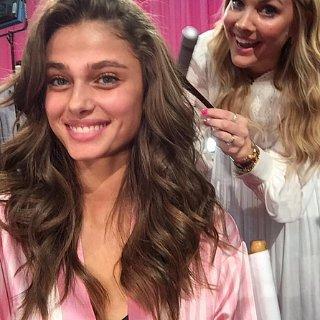 Sarah Potempa's Victoria's Secret Instagram Diary 2015
