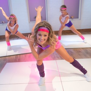 '80s Aerobic Cardio Workout
