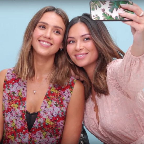 Jessica Alba's Makeup Artist Skills Video