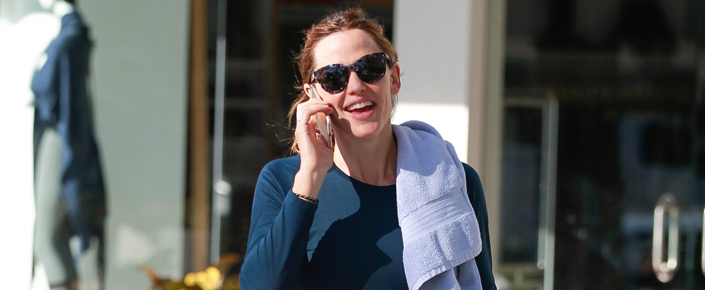 Jennifer Garner Looks Flawless After a Weekday Workout