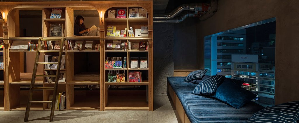 This Bookstore-Themed Hotel Is the Coziest Thing We've Ever Seen