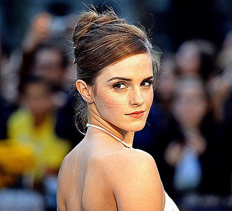 "Emma Watson Disses Hermione's ""Bad"" Hair"
