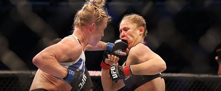 Knockout! Ronda Rousey Slammed to the Ground With a Kick to the Head