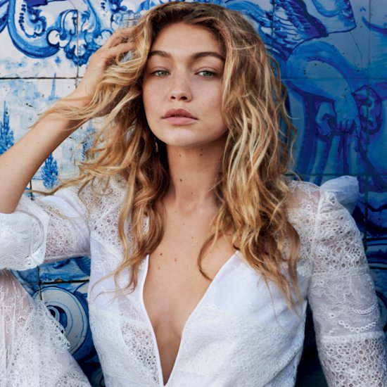 Gigi Hadid in Vogue December 2015