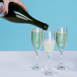 Champagne Facial and Hair Rinse Tutorial