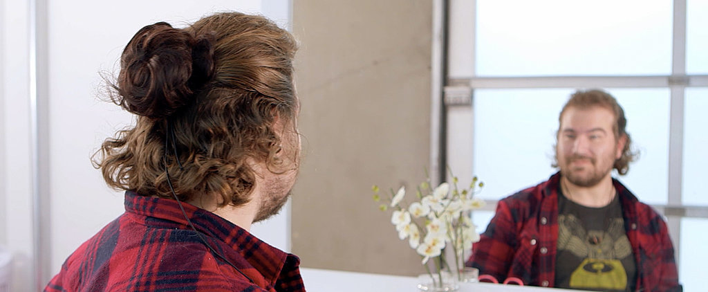 These Men Got Clip-In Man Buns, and the Results Are Hilarious