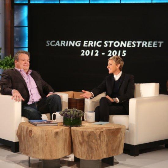 Ellen DeGeneres Scaring Eric Stonestreet Videos