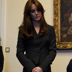 Kate Middleton in Skirt Suit | November 2015