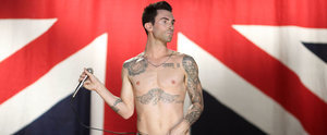Adam Levine's New Tattoo Will Either Scare You or Turn You On