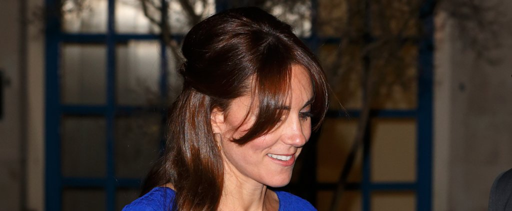 Kate Middleton's Half-Up Hairstyle Has a Surprise Twist in the Back