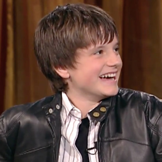 Josh Hutcherson on Jimmy Kimmel Live November 2015