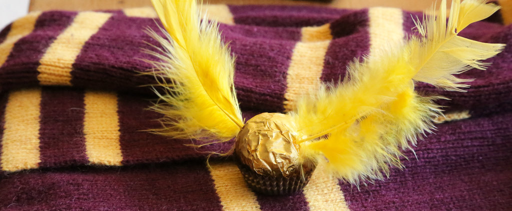 How to Create Golden Snitch Chocolates